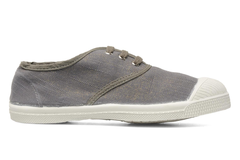 Sneakers Bensimon Tennis Glossy E Grijs achterkant