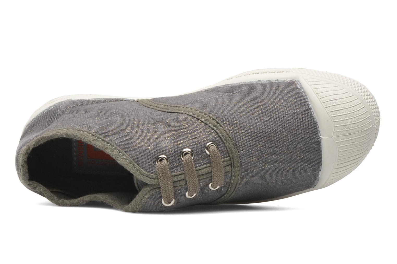 Sneakers Bensimon Tennis Glossy E Grijs links