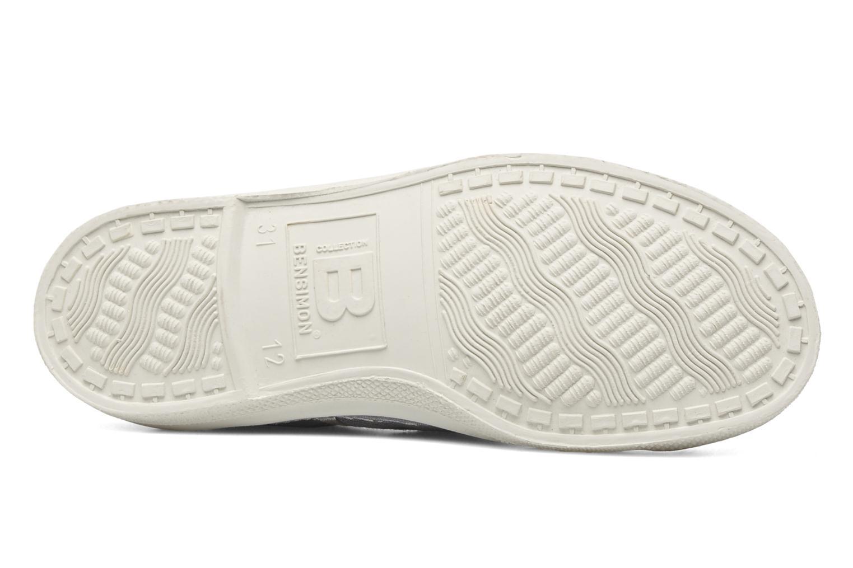 Sneaker Bensimon Tennis Glossy E grau ansicht von oben