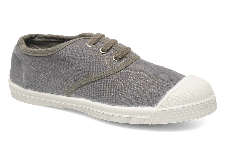 Sneakers Bensimon Tennis Glossy E Grijs detail