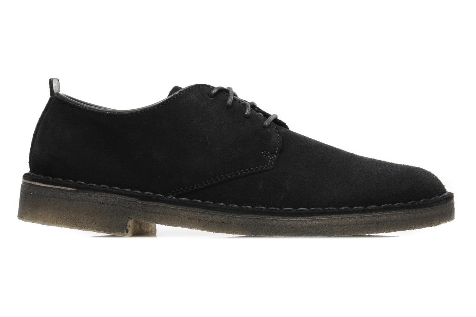 Zapatos con cordones Clarks Originals Desert London Negro vistra trasera