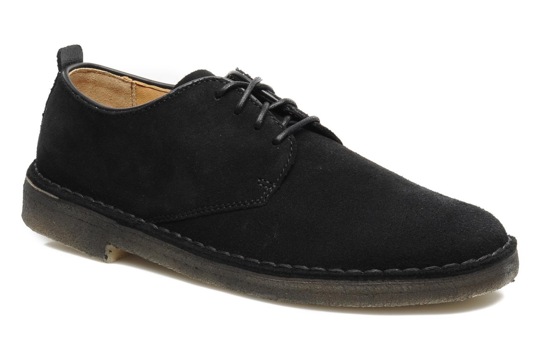 Clarks Originals Desert London (Noir) - Chaussures à lacets chez Sarenza (147189)