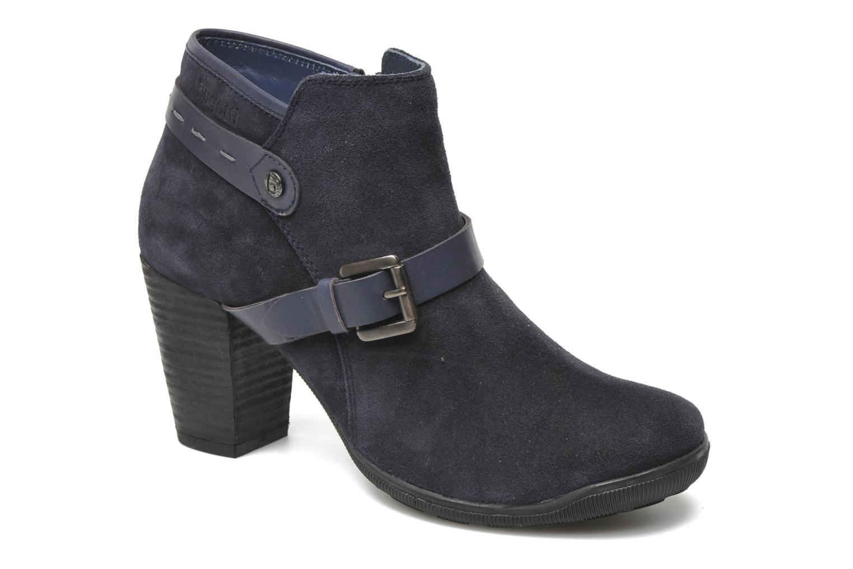 Boots en enkellaarsjes Bugatti Estelle Blauw detail