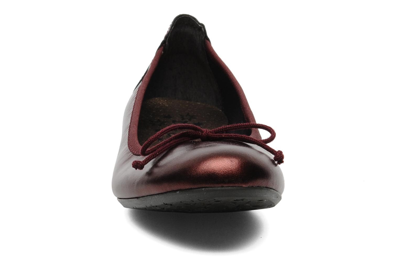 Ballerines Acebo's Josefine Bordeaux vue portées chaussures