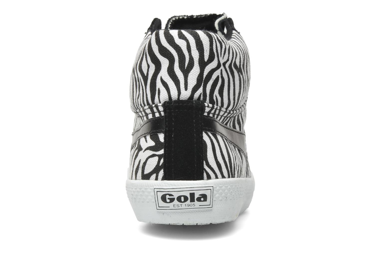 Sneakers Gola CYCLONE SAFARI Zwart rechts