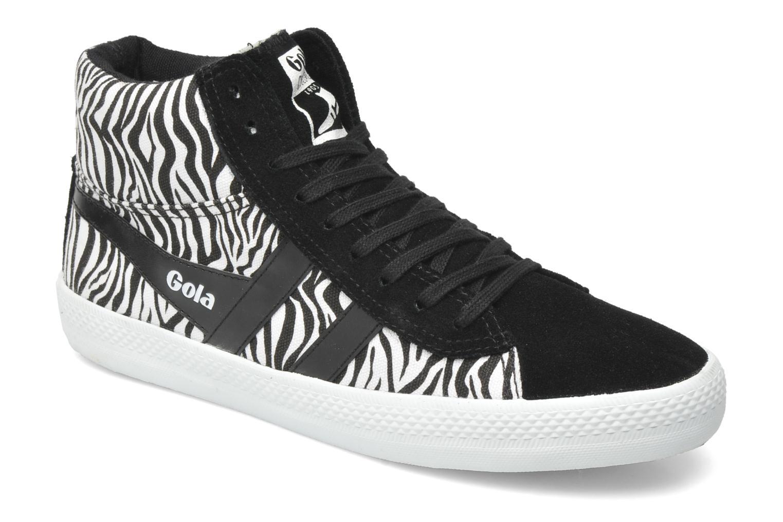 Sneakers Gola CYCLONE SAFARI Zwart detail
