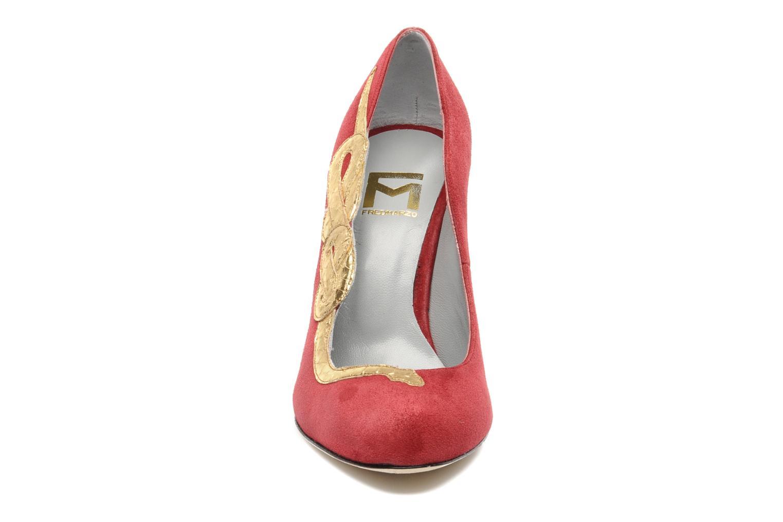 Escarpins Fred Marzo Eva Rouge vue portées chaussures