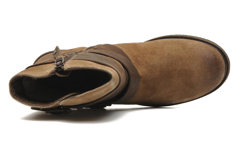 Stivaletti e tronchetti Mustang shoes Mokia Beige immagine sinistra