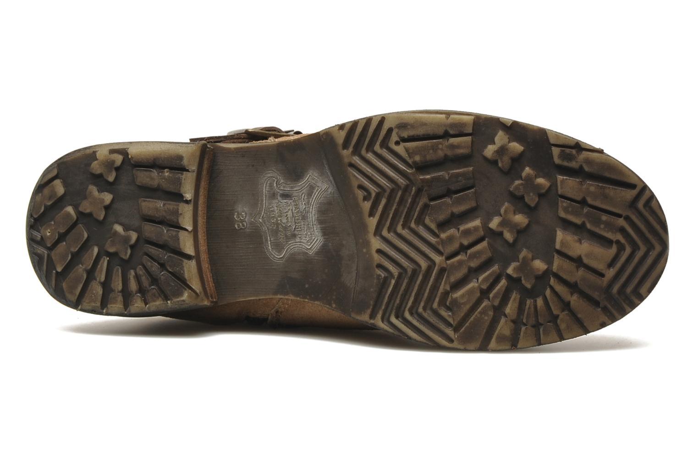 Stivaletti e tronchetti Mustang shoes Mokia Beige immagine dall'alto