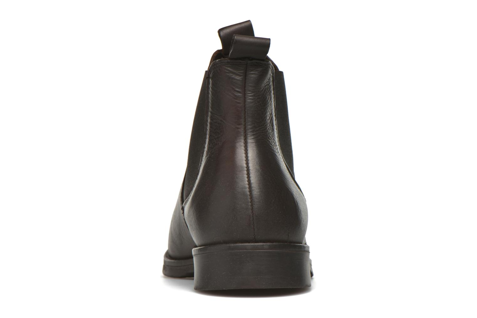Ankle boots Selected Homme Marc Brown view from the right