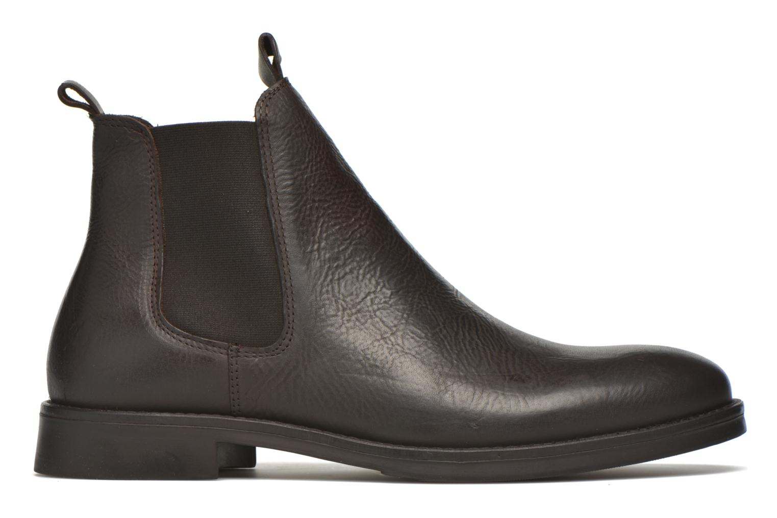 Ankle boots Selected Homme Marc Brown back view
