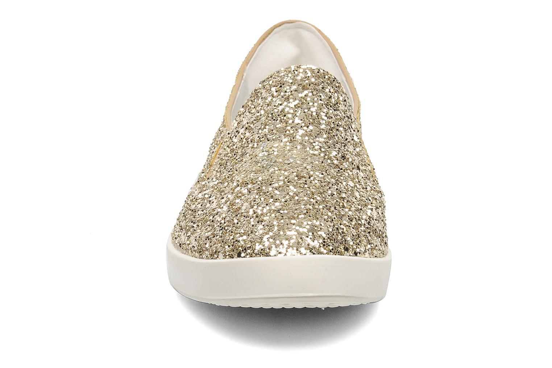 Mocassins Eden Epitre Or et bronze vue portées chaussures