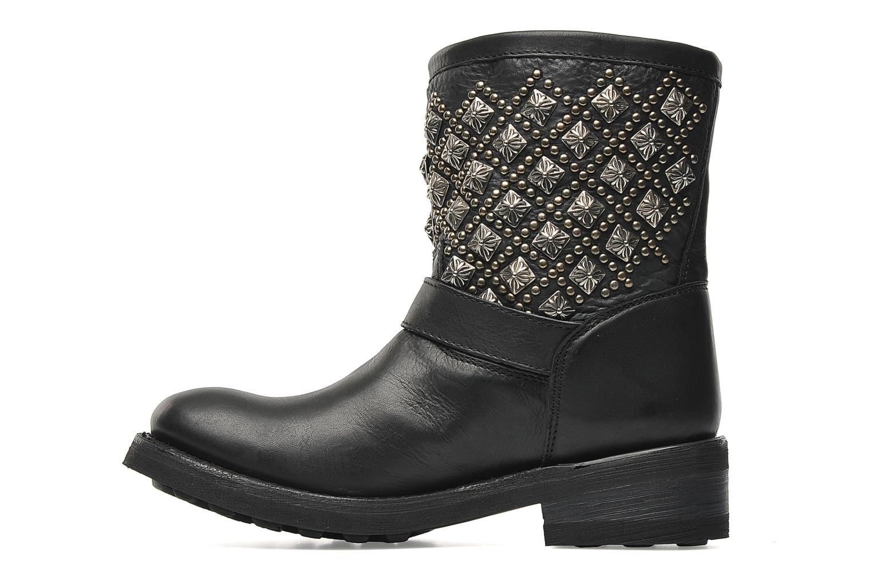 Boots en enkellaarsjes Ash Tsar Zwart voorkant