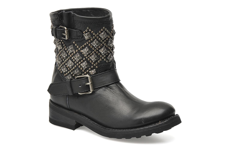 Boots en enkellaarsjes Ash Tsar Zwart detail
