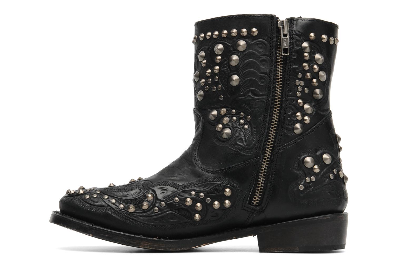 Boots en enkellaarsjes Ash Volcano Zwart voorkant