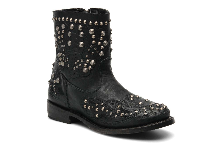 Boots en enkellaarsjes Ash Volcano Zwart detail