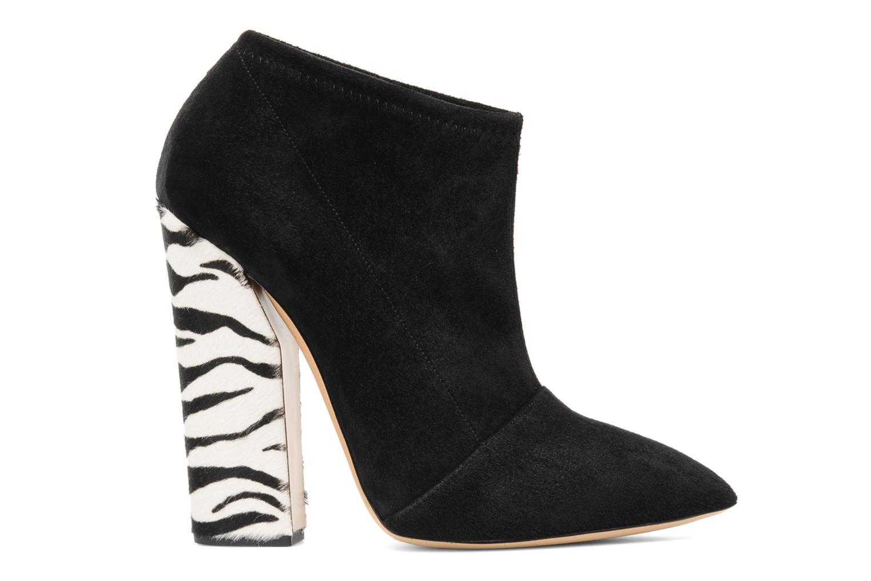 Bottines et boots Casadei Nete Noir vue derrière