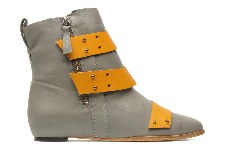 Boots en enkellaarsjes Skin by Finsk Sadie Grijs achterkant