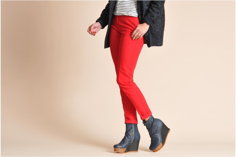 Boots en enkellaarsjes Skin by Finsk Archer Zwart onder
