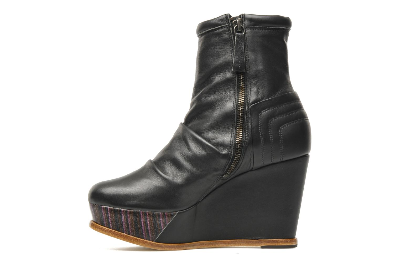 Boots en enkellaarsjes Skin by Finsk Archer Zwart voorkant