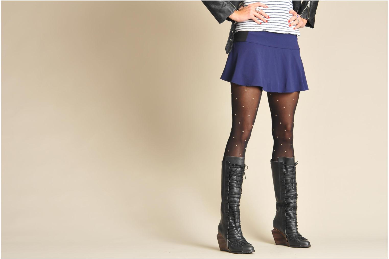 Stiefel Skin by Finsk Kirsty grau ansicht von unten / tasche getragen