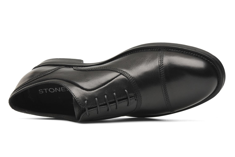 Chaussures à lacets Stonefly Class 3 Calf Veg Noir vue gauche