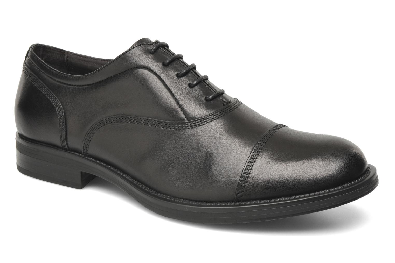 Chaussures à lacets Stonefly Class 3 Calf Veg Noir vue détail/paire