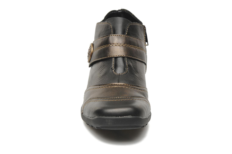 Bottines et boots Remonte Irma Noir vue portées chaussures