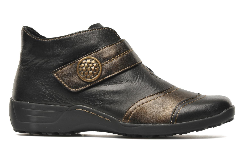 Bottines et boots Remonte Irma Noir vue derrière