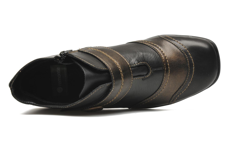 Bottines et boots Remonte Irma Noir vue gauche