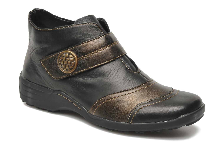Bottines et boots Remonte Irma Noir vue détail/paire