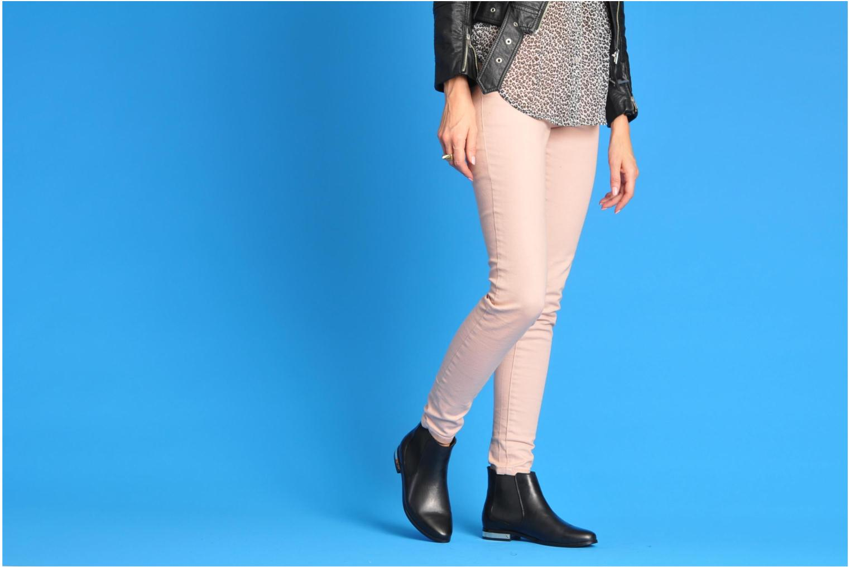 Stiefeletten & Boots I Love Shoes Thalon schwarz ansicht von unten / tasche getragen
