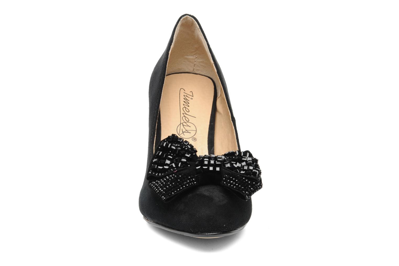 Escarpins I Love Shoes Paisley Noir vue portées chaussures