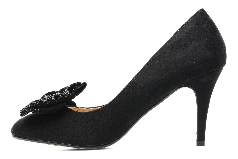 Escarpins I Love Shoes Paisley Noir vue face