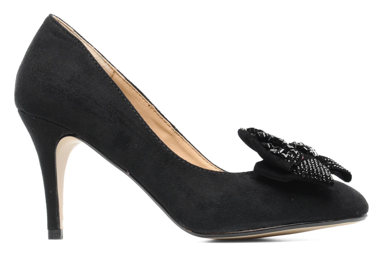 Escarpins I Love Shoes Paisley Noir vue derrière