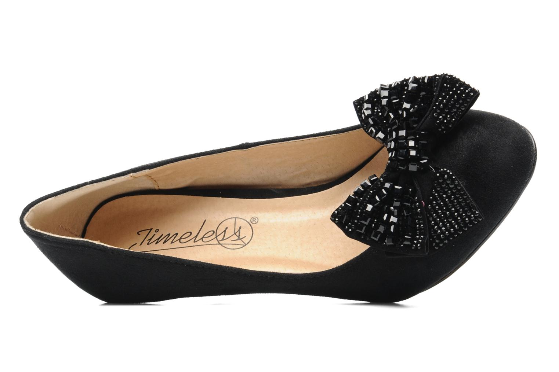 Escarpins I Love Shoes Paisley Noir vue gauche