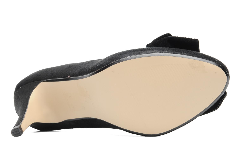 Escarpins I Love Shoes Paisley Noir vue haut