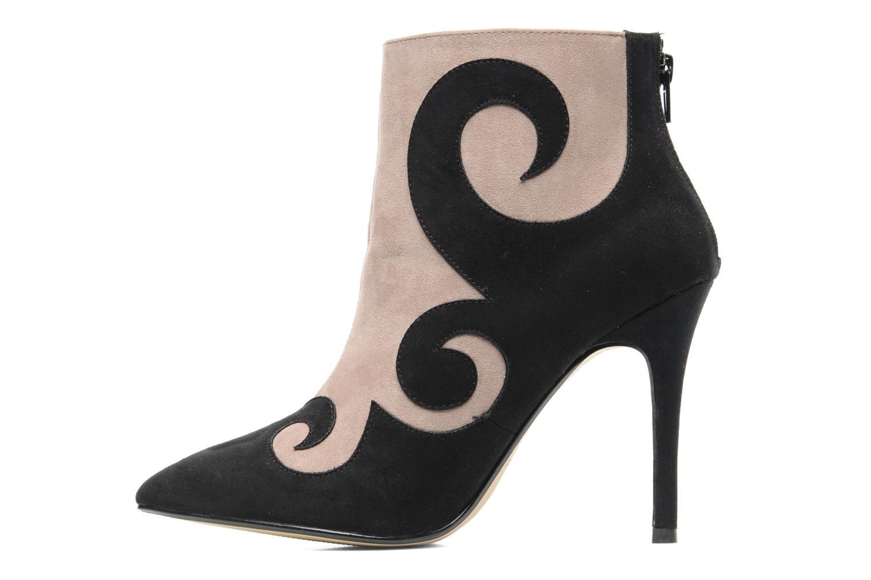 Ankelstøvler I Love Shoes Poppet Sort se forfra
