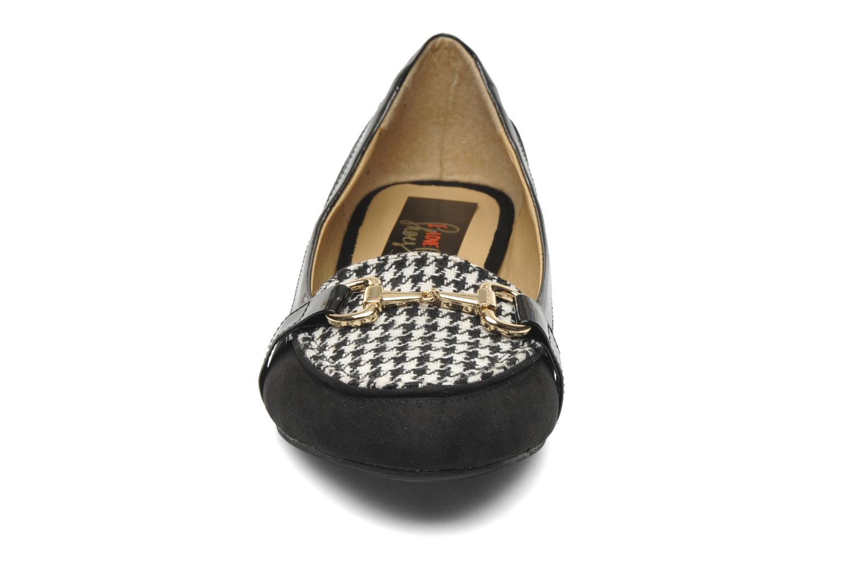 Mocassins I Love Shoes Pacify Noir vue portées chaussures