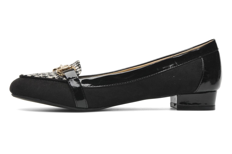 Slipper I Love Shoes Pacify schwarz ansicht von vorne