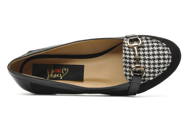 Slipper I Love Shoes Pacify schwarz ansicht von links
