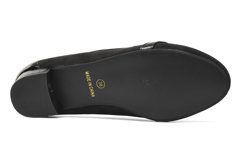 Slipper I Love Shoes Pacify schwarz ansicht von oben