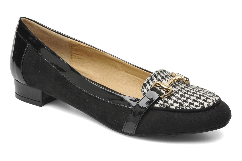 Mocassins I Love Shoes Pacify Noir vue détail/paire