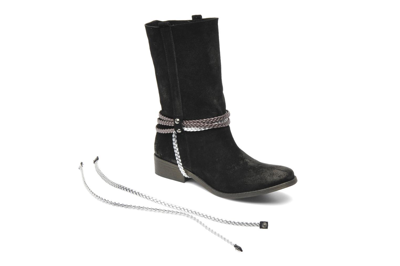 Bottines et boots Coco et abricot Laya Boots Noir vue 3/4