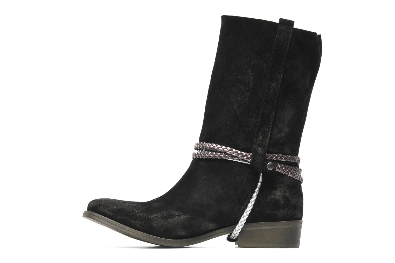 Bottines et boots Coco et abricot Laya Boots Noir vue face