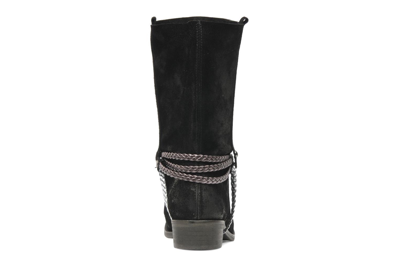 Botines  Coco et abricot Laya Boots Negro vista lateral derecha