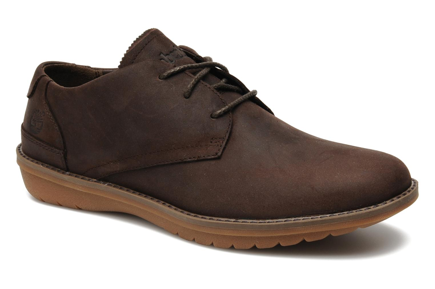 Veterschoenen Timberland Earthkeepers Travel Oxford Bruin detail