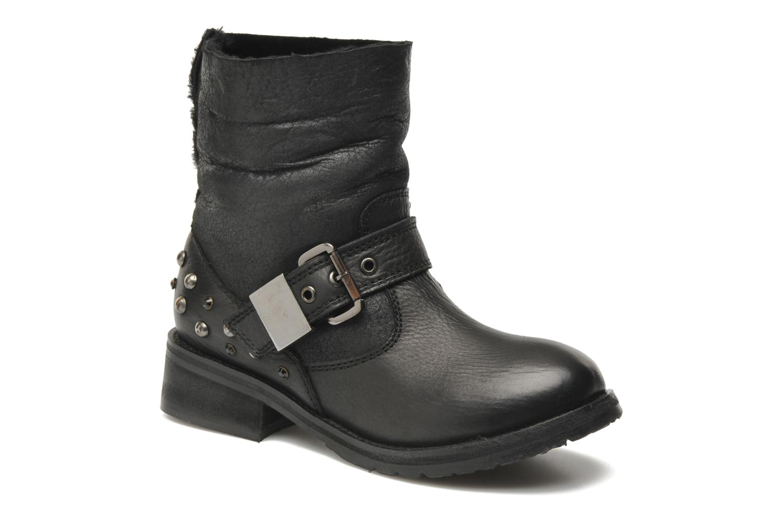 Ankle boots Lola Cruz Yoni Black detailed view/ Pair view