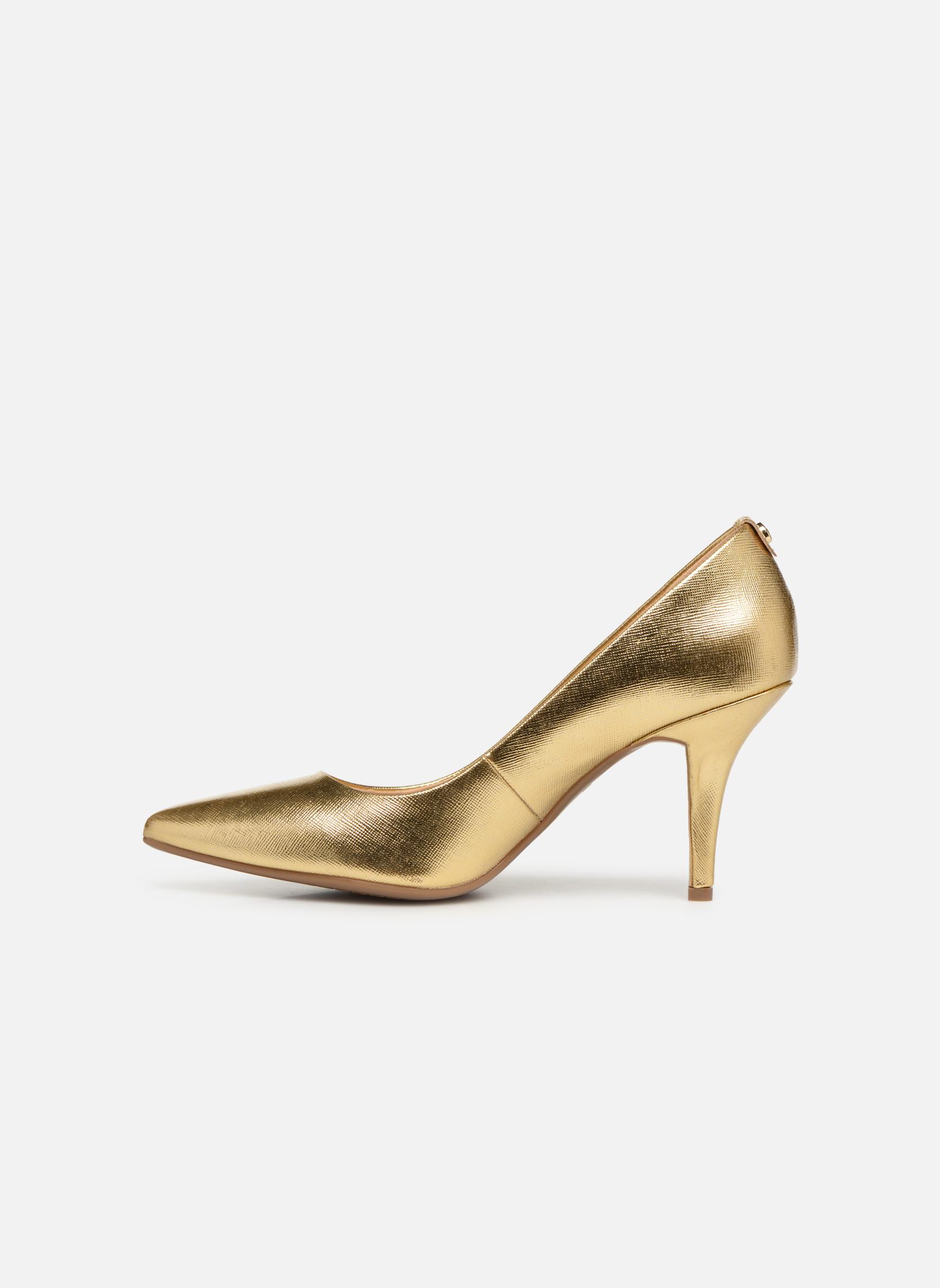 Pumps Michael Michael Kors MK Flex Mid Pump W gold/bronze ansicht von vorne