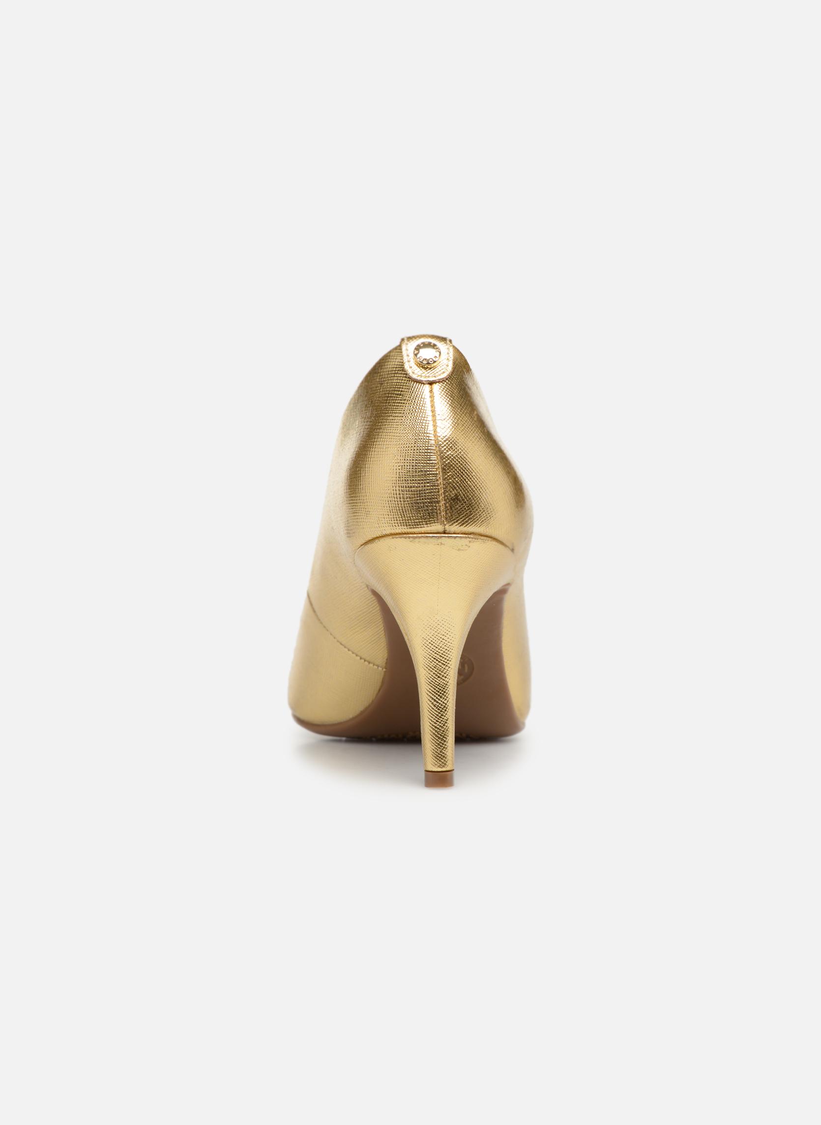 Pumps Michael Michael Kors MK-Flex Mid Pump gold/bronze ansicht von rechts